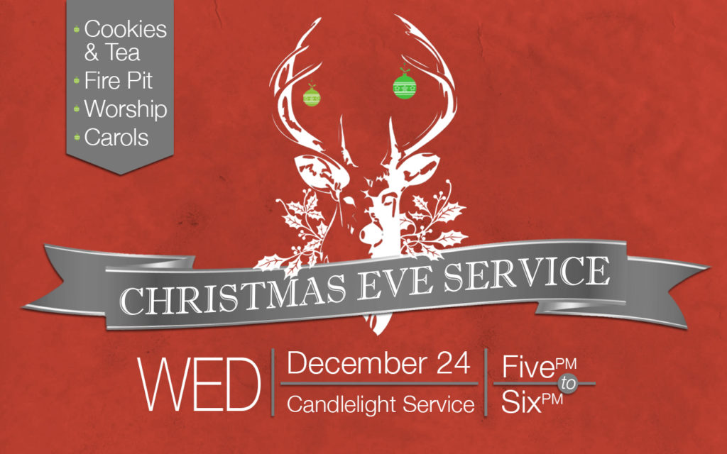 2014 Christmas Eve Service announcement for Projection/Web